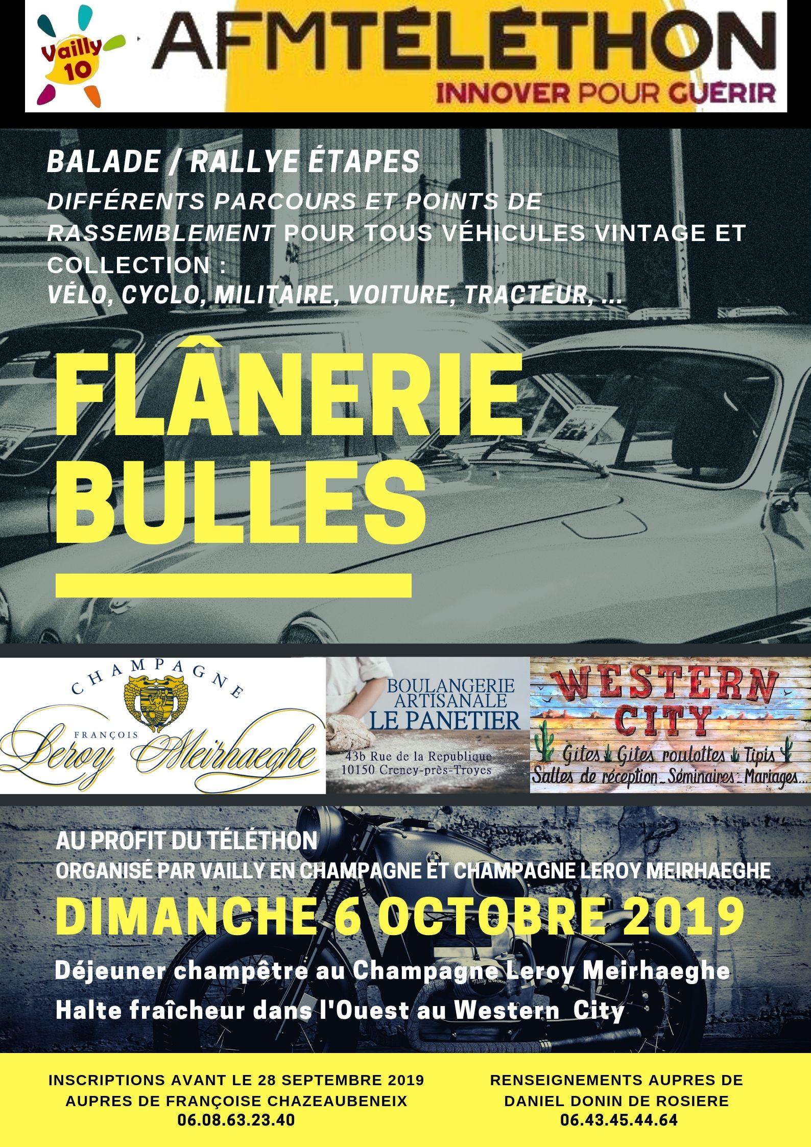 flânerie bulles champagne leroy meirhaeghe montgueux rallye véhicules vintage